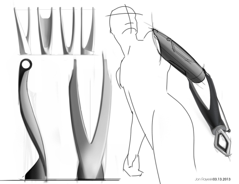 Rayeski Arm Concept Sketches 3